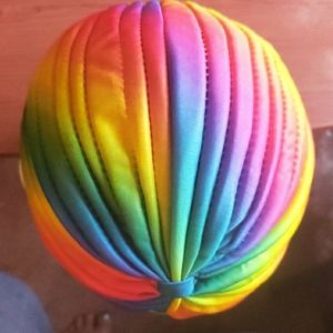 Accessories - Rainbow 🌈 Turban & Earrings